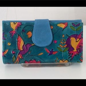 100% Leather Colombian wallet - New